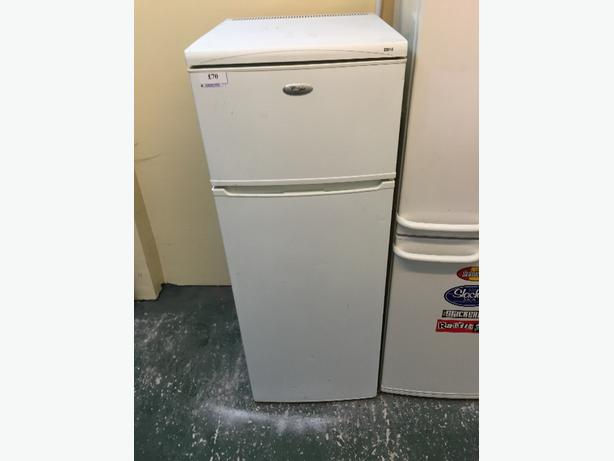 ☀️☀️whirlpool fridgefreezer 3 months grter