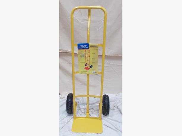 "Sack Hand Truck With 10"" Pneumatic Tyre"