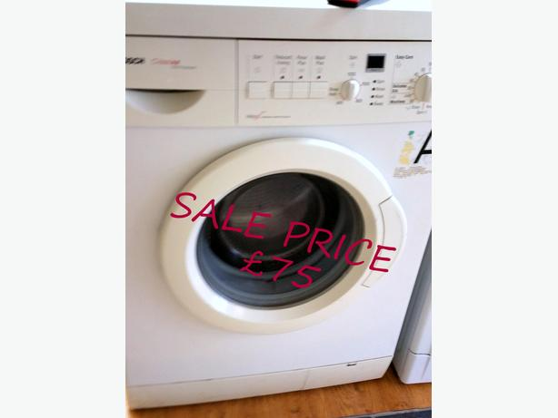 BOSCH WASHING MACHINE 6KG 1200 SPIN + WARRANTY