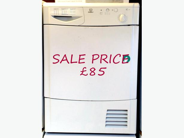 INDESIT 7KG CONDENSER TUMBLE DRYER + WARRANTY