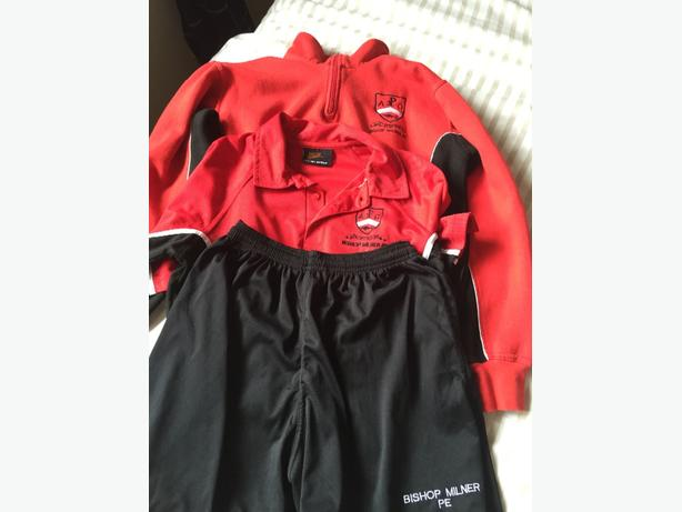 Bishop Milner Sports Kit