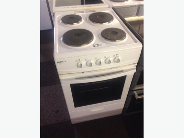 PLATED TOP BEKO ELECTRIC COOKER 50CM..