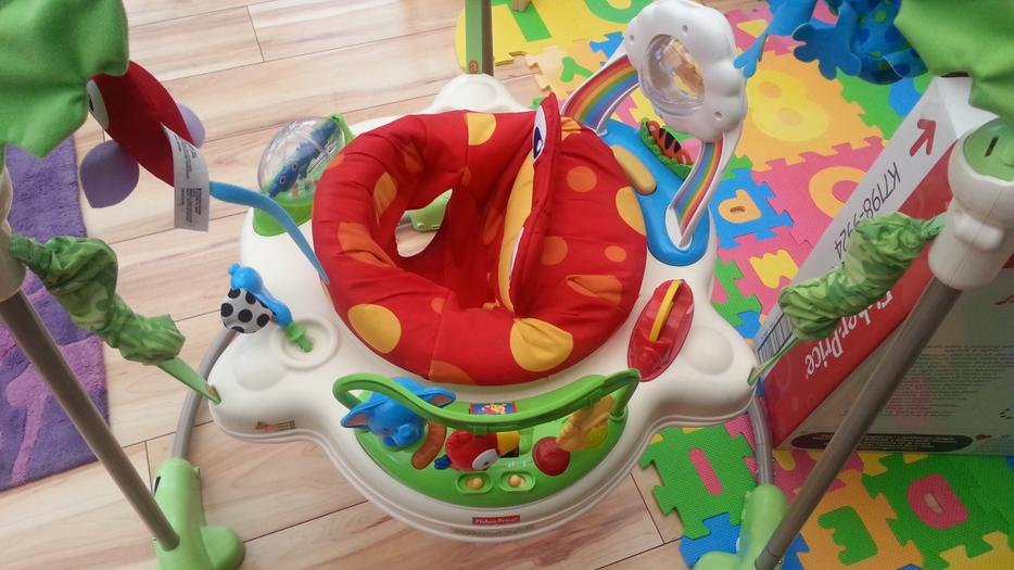 fisher price jumperoo instruction manual