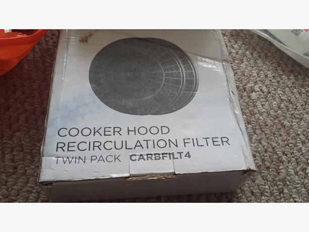 COOKER HOOD RECIRCULATION FILTER TWIN PACK
