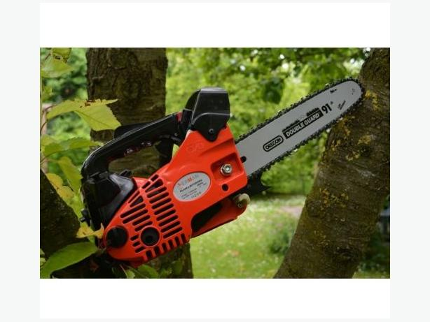 "Chainsaw 12"" - 25cc - Petrol With a OREGON Chain Set - RRP £80"