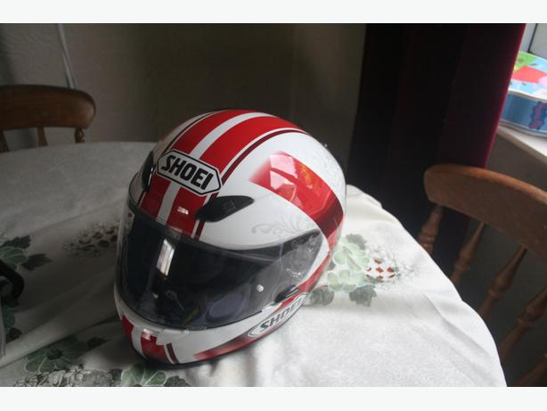 SHOEI MOTORCYCLE CRASH HELMET