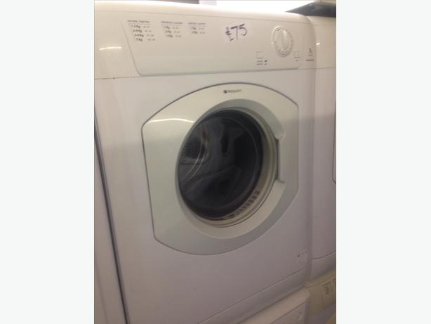 HOTPOINT DRYER VENTED 7KG WHITE1
