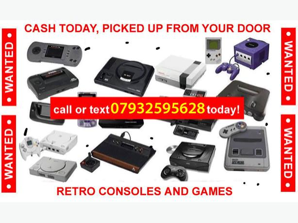 WANTED: Retro video games all things considered!!!