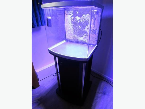 Marine Aquarium, stand and led lights.