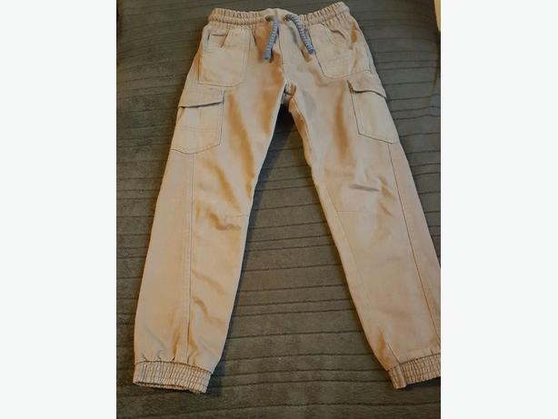 Mothercare Boys fleece lined trousers . Like new.6-7 years.