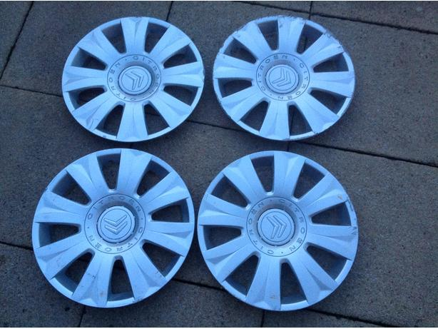 Citroen wheel trims