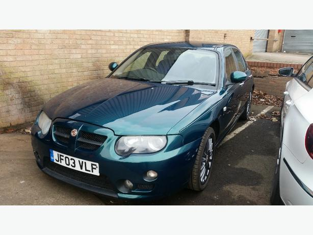 spares or repairs mg zt 1.8 turbo low mileage clean car