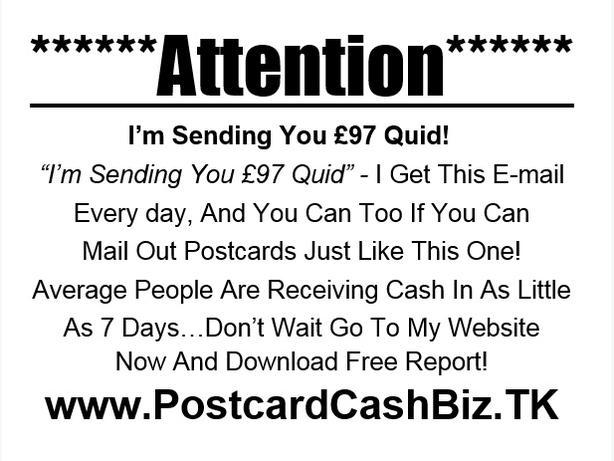 Postcard Cash