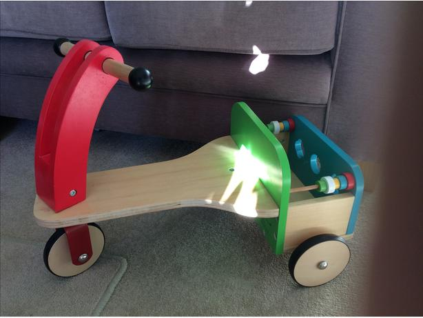 Wooden trike from ELC