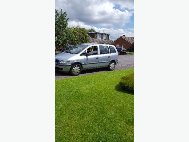 SWAP ONLY... zafira 1.6 petrol LONG mot