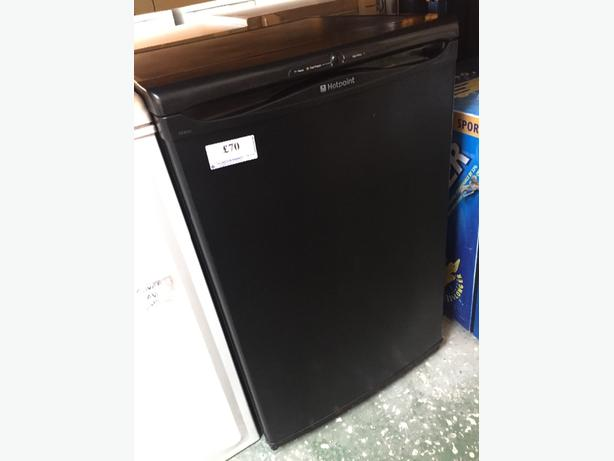 ☀️🚚hotpoint black freezer free delivery