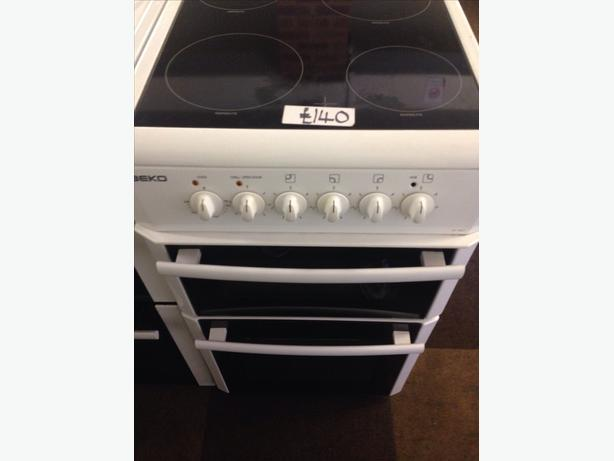 BEKO ELECTRIC COOKER 50CM CERAMIC TOP1