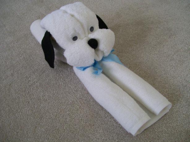 Cute Hooded Towel Baby Shower Gift