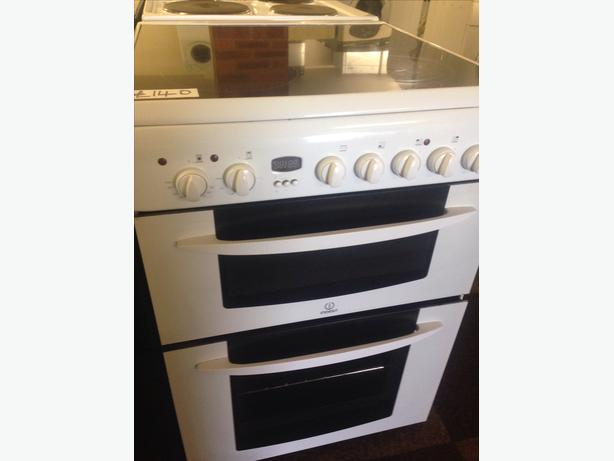 INDESIT DOUBLE OVEN FAN ASSISTED ELECTRIC COOKER4