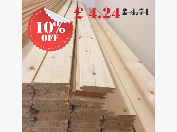 Sale for 20mmx90mm 3.6m(12ft) floorboards.