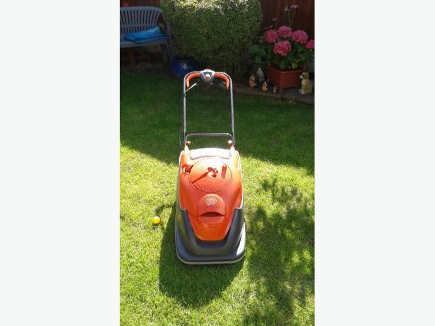 flymo vision compact 380 mower