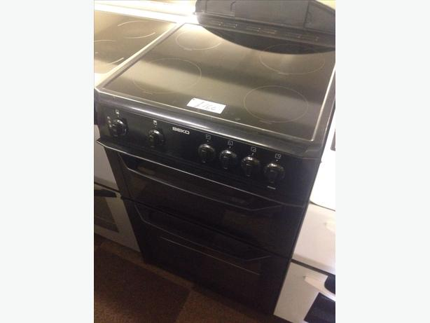 BEKO ELECTRIC COOKER 60CM FAN ASSISTED6