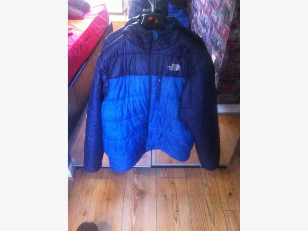 north face coat size small