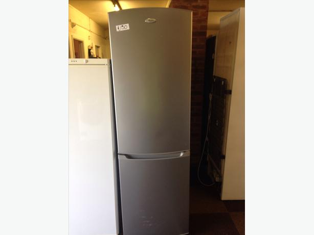 WHIRLPOOL FRIDGE / FREEZER SILVER1