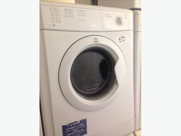 INDESIT DRYER VENTED 6KG WHITE