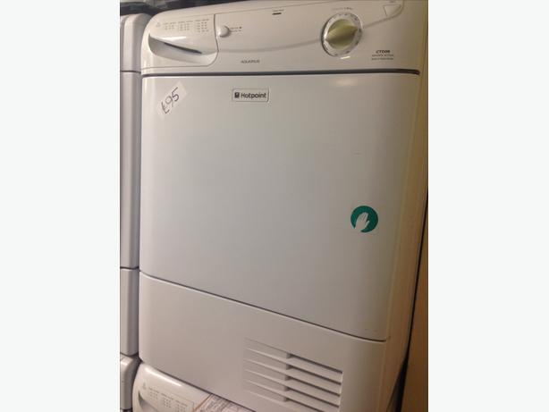 HOTPOINT AQUARIUS DRYER CONDENSER 7KG WHITE2