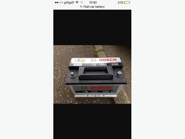 70 ah diesel battery £25