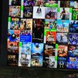 xbox one boxed2.5tb with 16 games