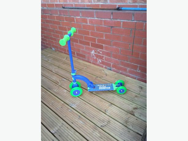 child's first scooter