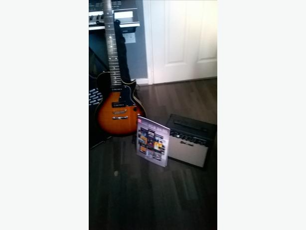 Electric Guitar w/Amplifier