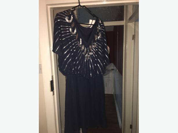 blue dress from boohoo