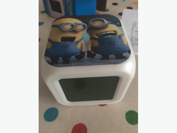 minion alarm clocks choice of 3