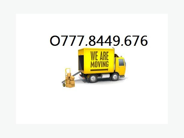 MAN&VAN.LOW COST REMOVALS SERVICE Unbeatable on Price,