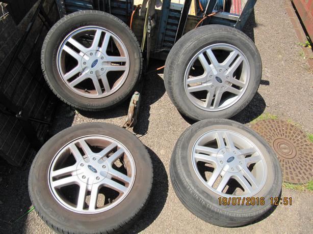 ford alloy wheels  x 4