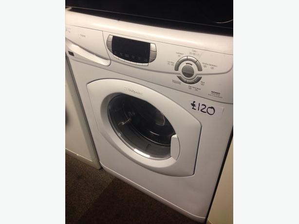 HOTPOINT WASHER DRYER 5+5KG.....