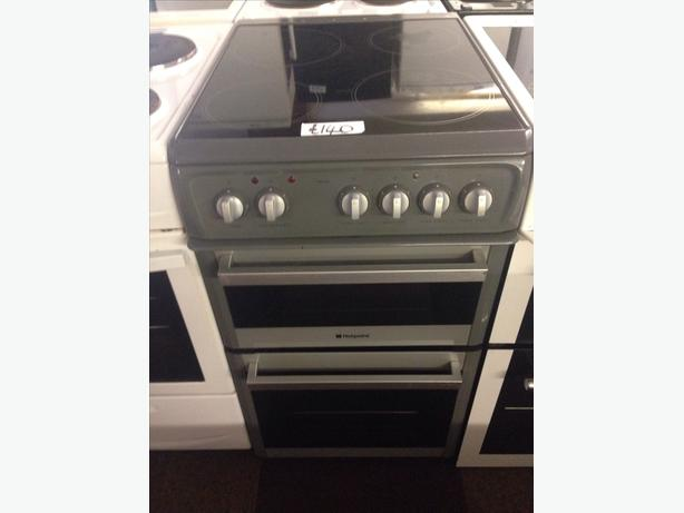 HOTPOINT CERAMIC TOP 50CM ELECTRIC COOKER1