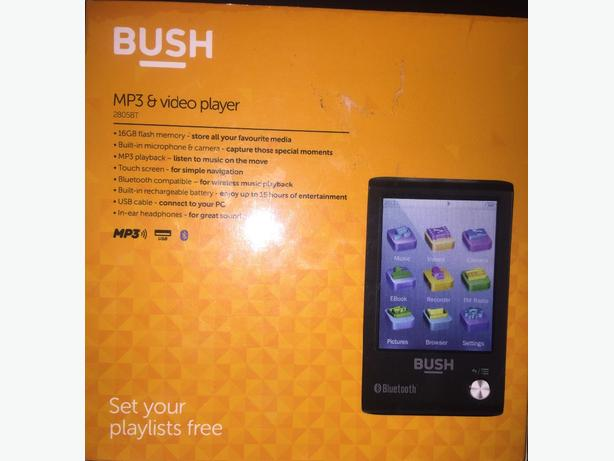 BUSH MP3 and video player