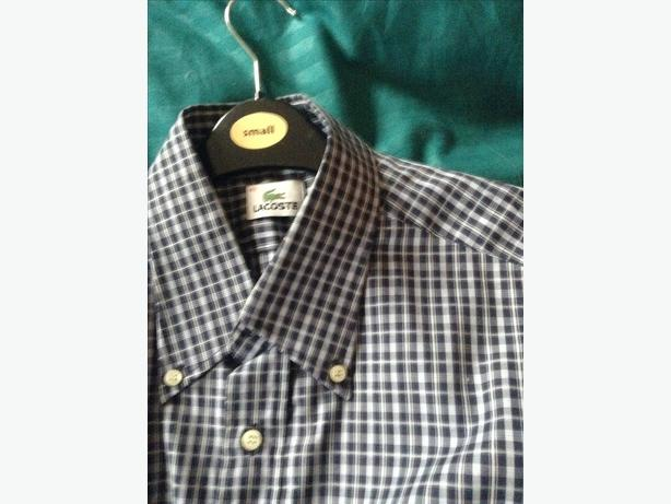 Lacoste shirts choice off 4 size large