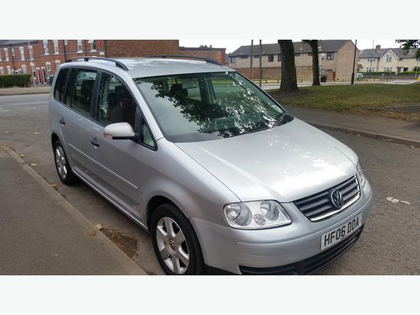 2006 VOLKSWAGEN TOURAN 1.6 7 SEATER MOT JUNE FULL HISTORY £1950