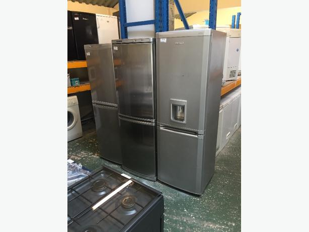 ☀️tal silver fridgefreezers free delivery