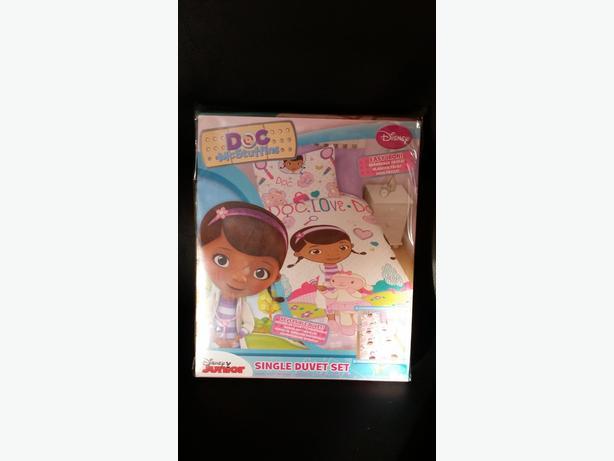 Brand New Childrens Bedding Doc McStuffin And Ben 10