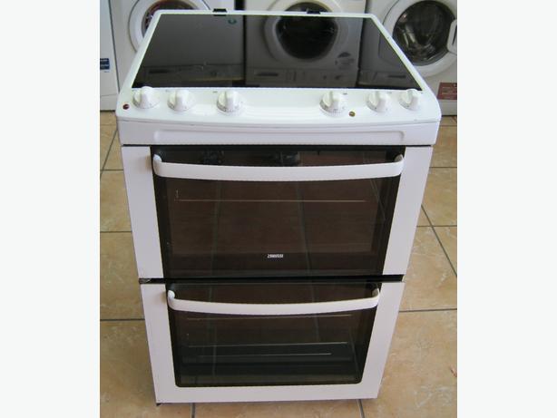 Zanussi 60cm Electric Cooker, Ceramic Hob, Fan Oven, 6 Month Warranty