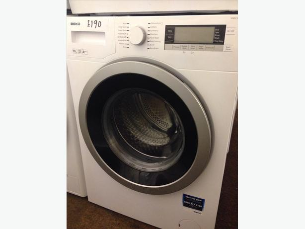 BEKO WASHING MACHINE 10KG 1400 SPIN1