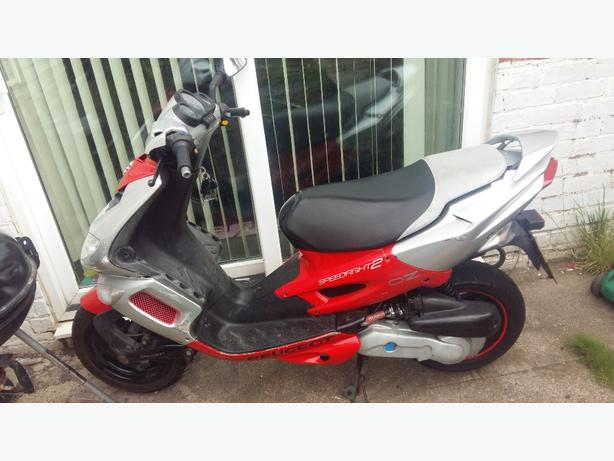 peugeot speedfight 2 moped (swap for a car or bike)