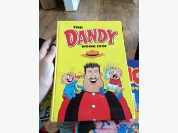 dandy, beano annuals