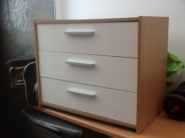 Set of 3 drawers